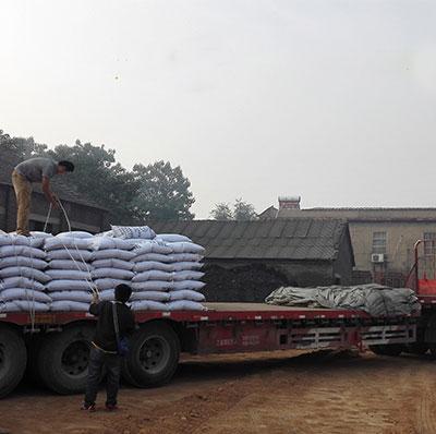 空气净化活性炭吨包出口越南
