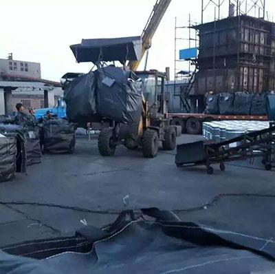 柱状活性炭吨包发往甘肃