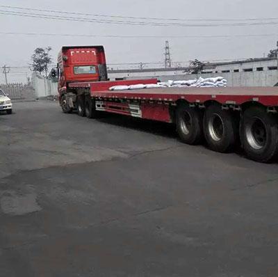 粉状活性炭发往广西