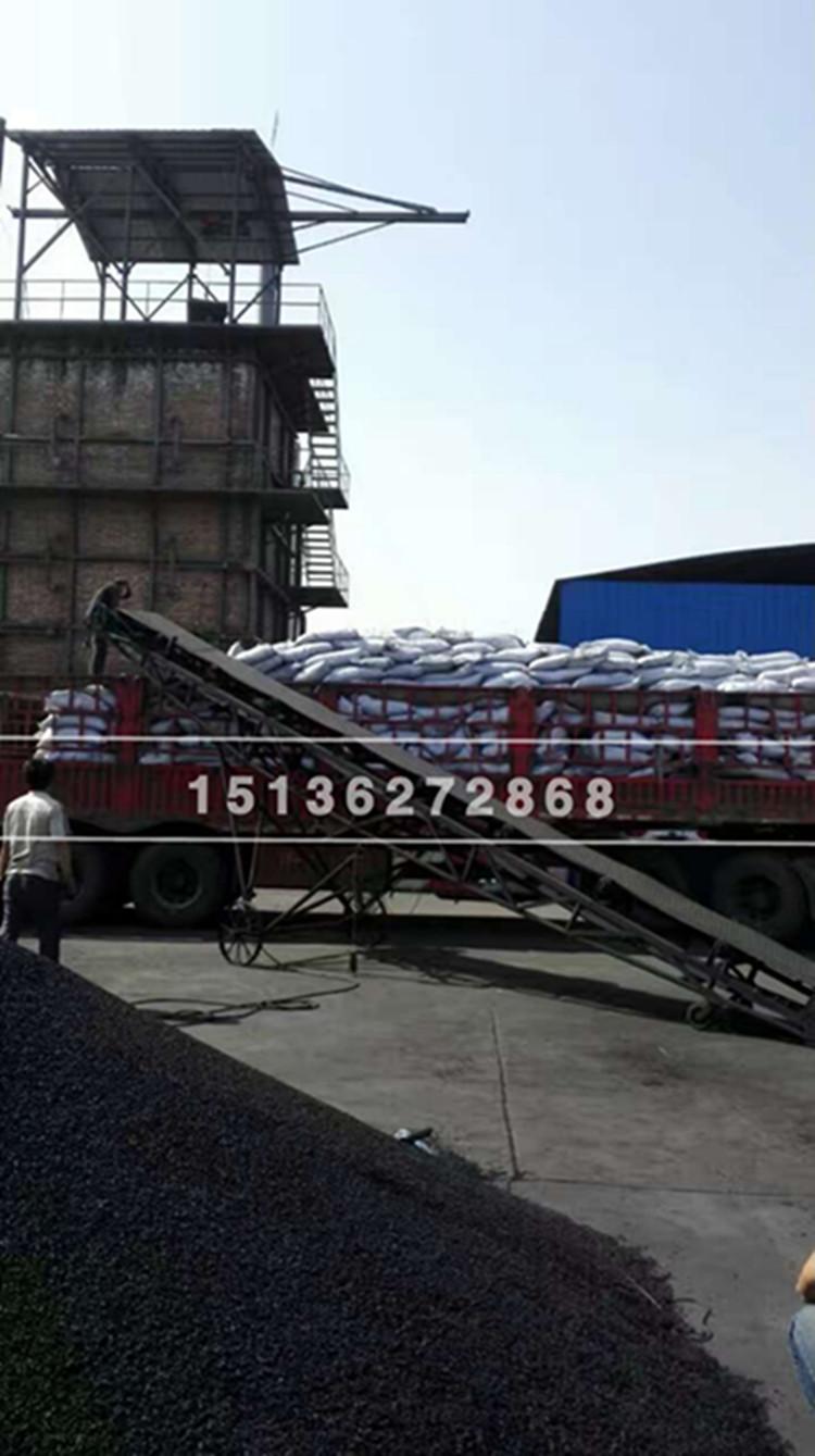 公司新生产出来的新货装车